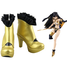 87be86f81f5 FGO Fate Grand Order Ishtar Cosplay Shoes Boots Halloween Carnival Party Cosplay  Costume Accessories(China
