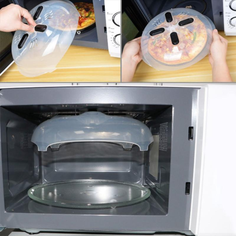 Dishes Food Cover Food Splatter Guard Microwave Hover Anti