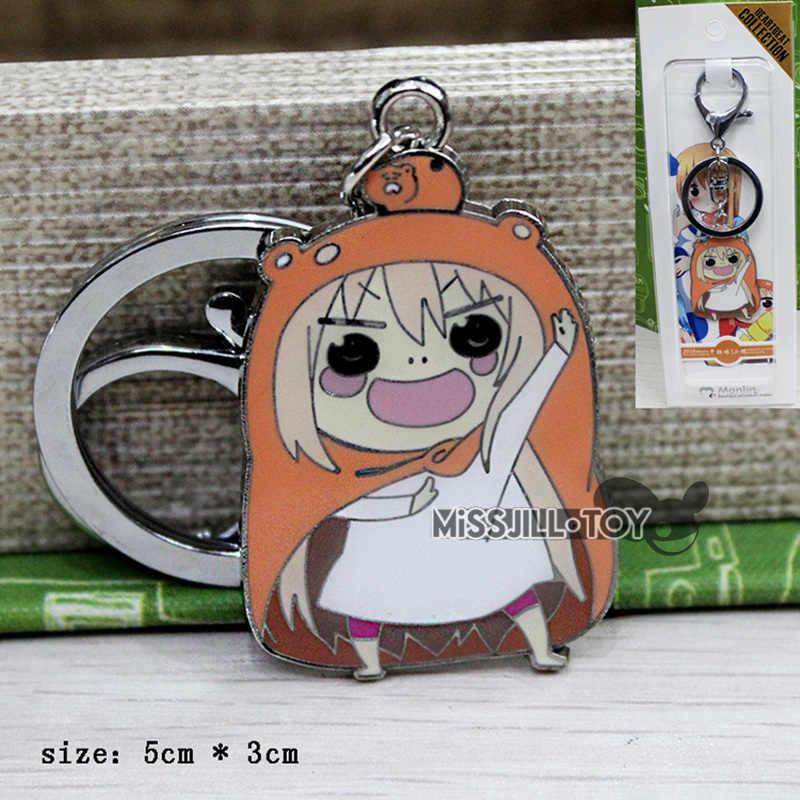 New Fashion Jewelry pendant Anime Himouto! Umaru-chan UMR model figure Metal pendant Necklace / Keychain Cosplay for kids Gift
