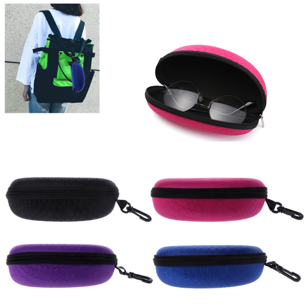 Back To Search Resultsapparel Accessories Eyewear Accessories Gentle Sunglasses Case Box Portable Zipper Sunglasses Hard Eye Glasses Case Eyewear Protector Box Bag Cover Eyewear Accessories Long Performance Life