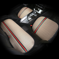 Luxury Fashion Car Seat Cover Cushion Protector Mat Pad For Benz mercedes w222 w245 w460 B250 porsche cayenne s gts macan