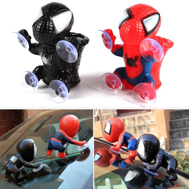 Brinquedo do Homem aranha Escalando Spiderman Janela Otário para Spider-Man Boneca Decoração Do Carro Casa Ornamento de Suspensão Para As Crianças Brinquedo
