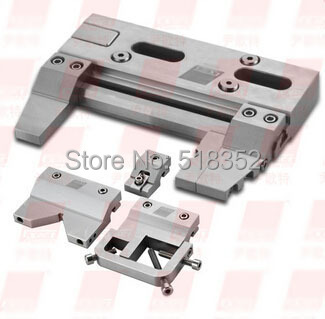 EPT-708 Precision Vises Triaxial Adjustable Assembling Fixture, SUS420J2 Stainless Steel Vice Jig Tools for EDM Wire Cut Machine ept 7057a precision edm vises max openning 0 50mm stainless steel vice jig tools for edm wire cutting machine