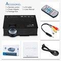 Unic UC46 Inalámbrica WIFI Mini Proyector Portable 1200 Lúmenes 800x480 Full HD de Vídeo LED Home Cinema Soporte Miracast DLNA Airplay