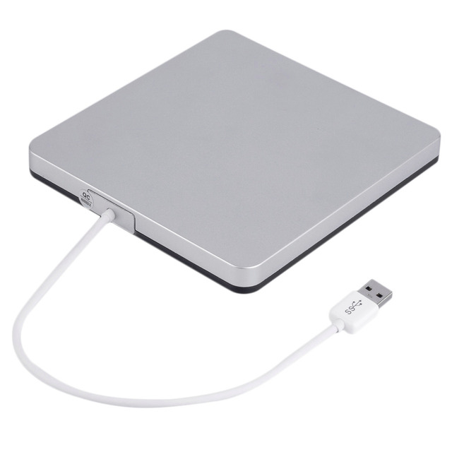 Usb 3.0 cd/dvd-rw escritor externa de disco duro para apple macbook pro air