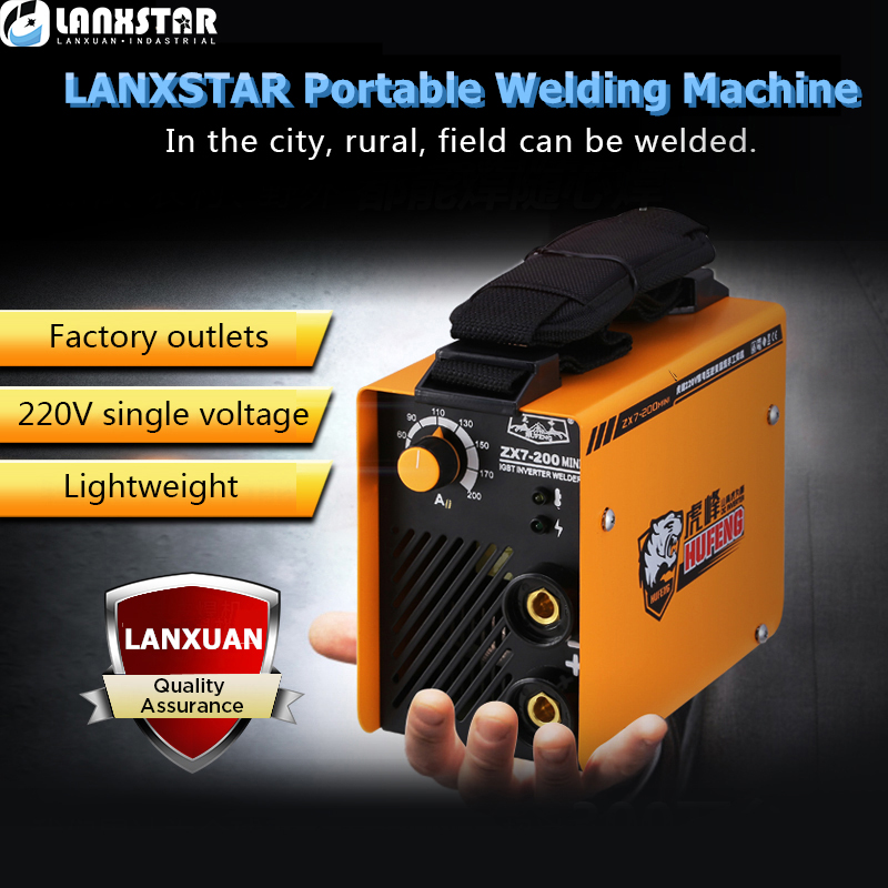 LANXSTAR Arc Welder 7200Series Mini Inverter Welding Machine MIG MMA Welding Machine Arc Electric Welding-Machines qcwdrsstc controller arc extinguishing sword shaped arc machine