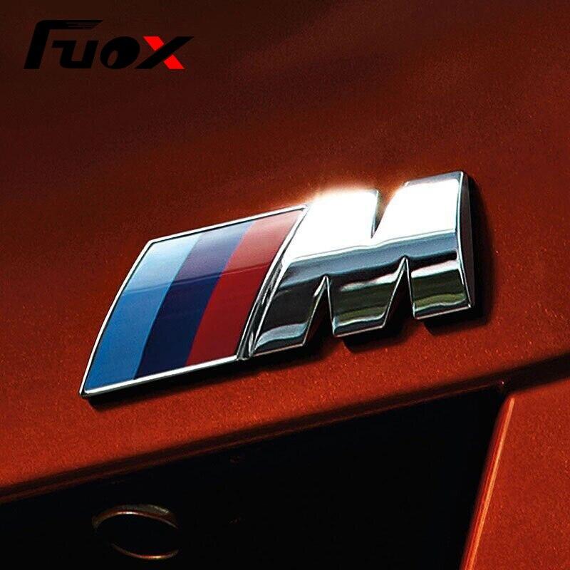 1pcs ABS Car M Power Emblem Badge Fender Sticker For BMW E46 E39 E90 E36 E60 E34 E30 F30 F10 F15 E53 E38 X5 E53 X6 X1 X3 M3 M5 leahter key holder car styling emblem wallets shell case for bmw m 1 3 5 7 series m3 m5 x1 x3 x5 e34 e36 e38 e39 e46 e30 e92 f30