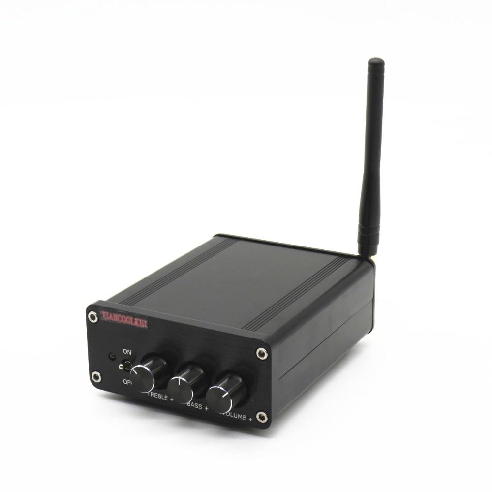 TIANCOOLKEI Subwoofer 2*50 W + 100 W Mini TPA3116d2 2.1 CRS 4.0 Bluetooth classe D carte amplificateur numérique pour la maison