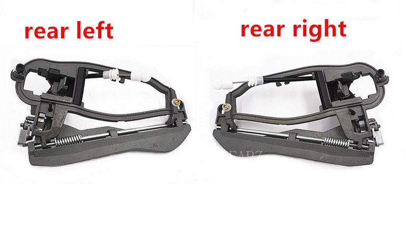 4 Door Handle Carriers for BMW E53 X5 2000-2006 Front/&Rear Left and Right Side