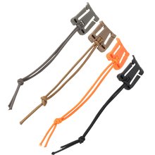 5pcs Plastic Climbing Carabiners EDC Tool Outdoor Hiking  Backpack Carabiner Molle Buckle Clip Winder for Securing Straps