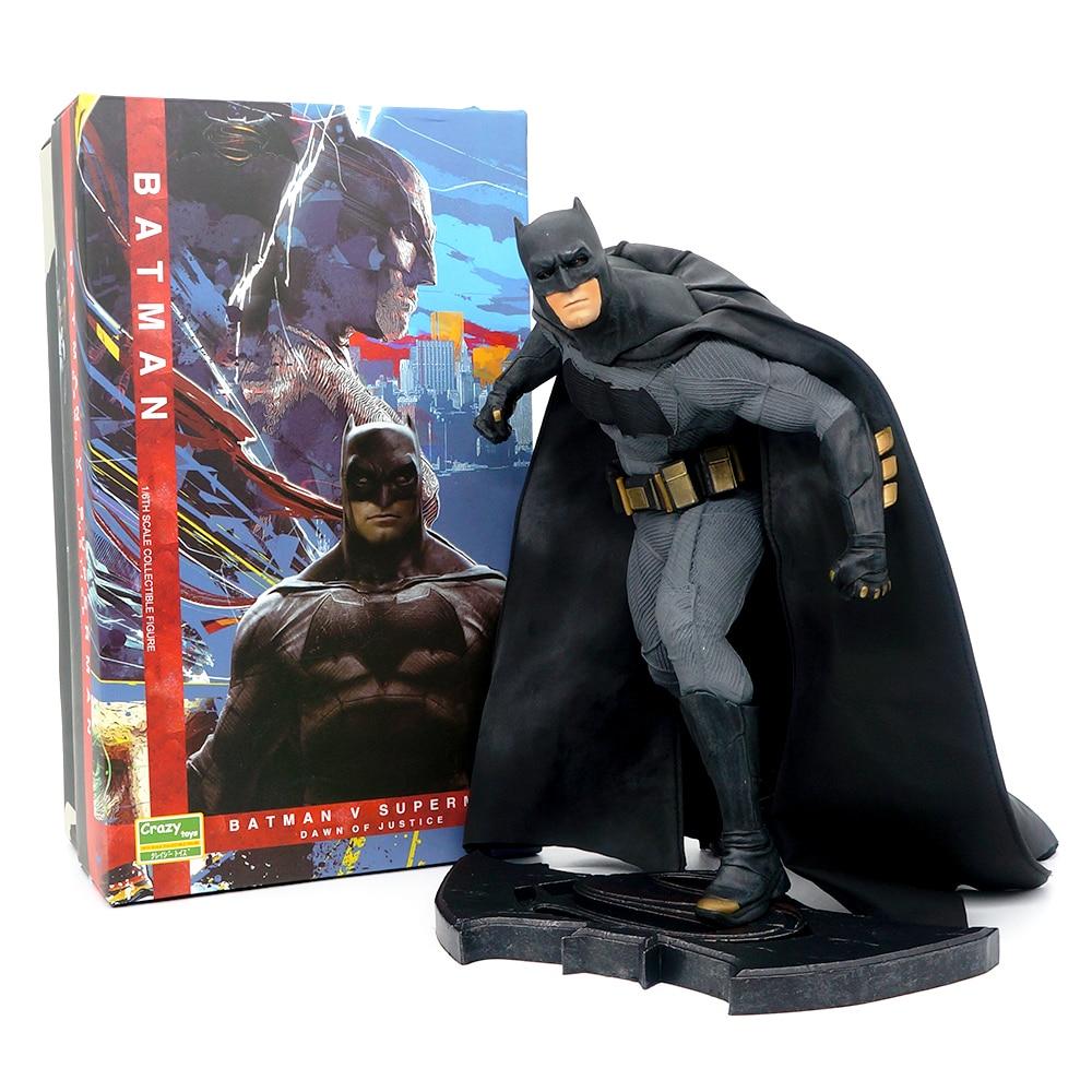 1:6 Pazzo Giocattoli DC Batman Vs Superman di Combattimento Edizione 1/6 PVC Anime Action Figure Model Collection Regalo Del Giocattolo Con Originale box-in Action figure e personaggi giocattolo da Giocattoli e hobby su  Gruppo 1