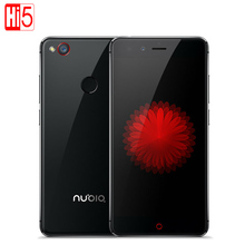 "Original ZTE NUBIA Z11 Mini Huella Digital Octa Core 64 GB ROM 5.0 ""Smartphone Snapdragon 617 MSM8952 16.0MP Android 5.1 3 GB RAM"