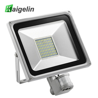50W AC 220V 240V PIR Motion Sensor LED Flood Light 70 LED SMD 5730 5500LM Spotlight