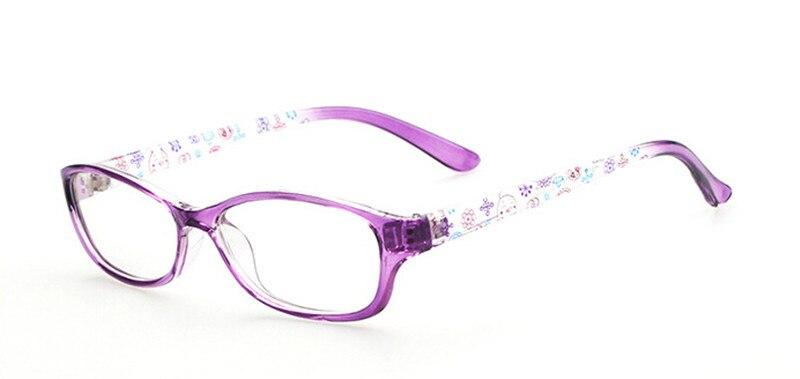 Новая модная детская одежда для мальчиков и девочек полный обод оправы для очков близорукость Rx ребенка детские очки Фирменная Новинка - Цвет оправы: Purple