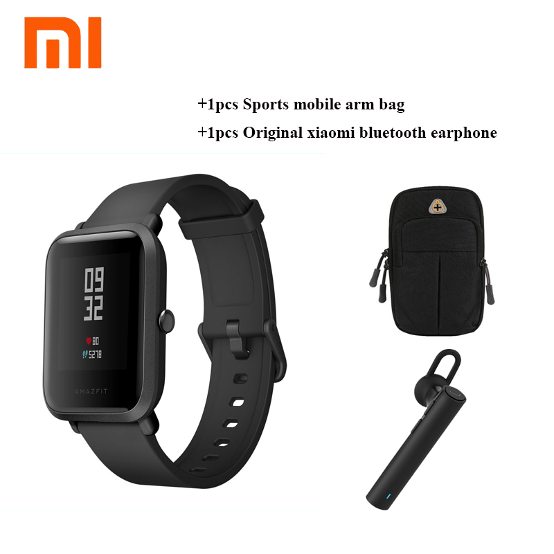 Rellotge original Xiaomi Huami Amazfit Bip Bit PACE Lite Youth Verison Smart amb brúixola impermeable GPS Tracker