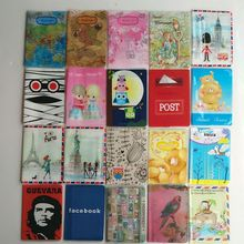 Cartoon Thin section Credit Card Holder,PVC Leather ID Card Bag,Business Porte Carte Simple,Travel Passport Cover 14*9.6CM