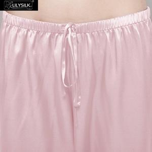 Image 4 - LilySilk 100 משי פיג מה סט פיג פיג feminino גבירותיי הלבשת נשים מלא אורך 22 momme תות משלוח חינם