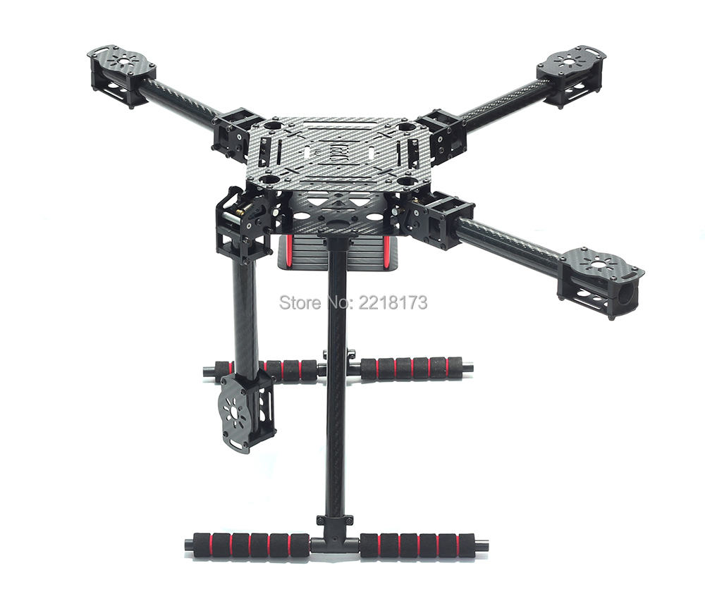 ZD550 550 550มิลลิเมตรอัพเกรดF550/ZD650 650มิลลิเมตรคาร์บอนไฟเบอร์Q UadcopterกรอบFPV Quadด้วยคาร์บอนไฟเบอร์L Andingลื่นไถล-ใน ชิ้นส่วนและอุปกรณ์เสริม จาก ของเล่นและงานอดิเรก บน   1