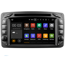 Android 5.1.1! 7 Inch Car DVD Player For Mercedes/Benz/W209/W203/W168/M/ML/W163/W463/Viano/W639/Vito/Vaneo Wifi GPS BT Radio