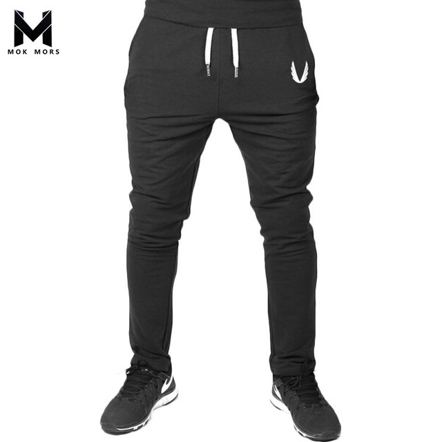 f77166028 2017 Men GASP&GOLDS Joggers Pants Casual Elastic cotton Mens Fitness Workout  Pants skinny Sweatpants Trousers Jogger Pants