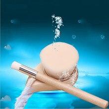 VANDER Deeply Cleaning Brushes Set Nose Washing Brush + Hair Face Brush Pores Wooden Handle Brush Cleanser Set
