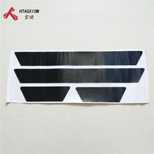 for Renault Clio Iv 4 2014 2015 2016 2017 2018 Door Sill Scuff Plate Stickers Auto Car Styling Accessories