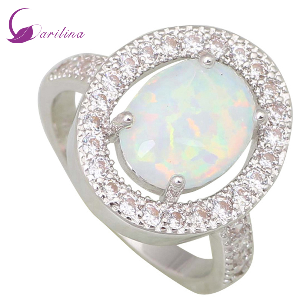 fashion opal ring wedding rings women 39 s rings white opal. Black Bedroom Furniture Sets. Home Design Ideas