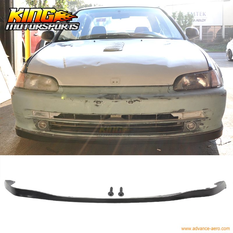 High quality poly urethane front lip For 1992-1995 Honda Civic 2Dr 3Dr OE Style Body kits купить