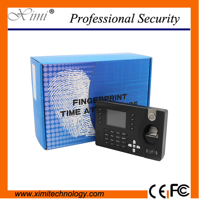 Hot sale USB,TCP/IP 32bit CPU fingerprint time recording&125KHZ ID card time attendance system a c030t fingerprint time attendance clock id card tcp ip usb