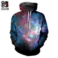 OGKB Pullover Men Hot Loose 3D Hoodies Printing Starry sky Hip Hop Oversized Clothes Homme Winter Hoodies Sweatshirts