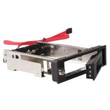 GTFS-3.5″ SATA HDD-Rom Hard Drive Disk Aulminum Mobile Rack