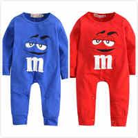 Новый 2019 осень движение Одежда для маленьких мальчиков и девочек носки для новорожденных синего и красного цвета с принтом из мультфильма с...