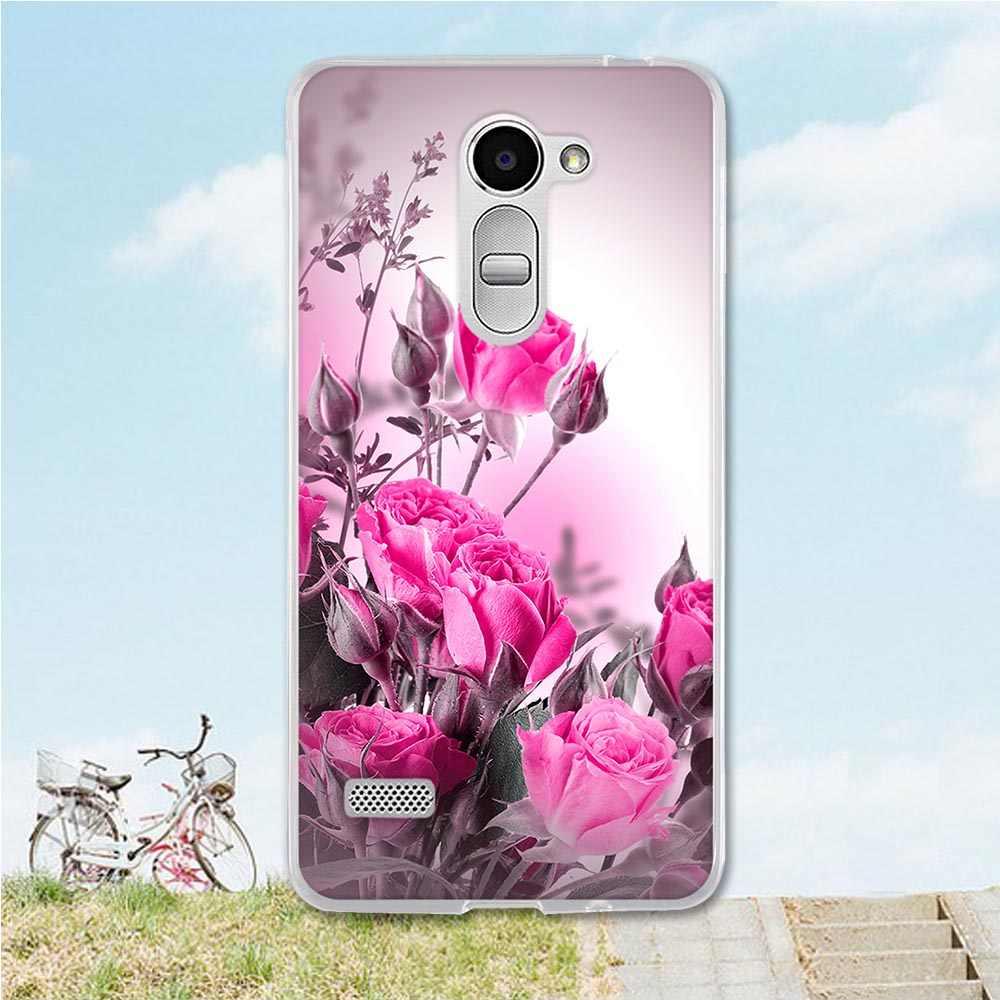 ل LG حالة TPU حالة ل LG X 190X190 الطباعة الهاتف الخليوي حالة ل LG راي/منطقة x190 لينة سيليكون الغلاف الخلفي حالات 5.5 بوصة