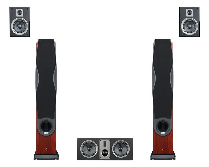 RM600A (wood grain color) HD home theater sound system 5.0 big dynamic high fidelity Dolby True HD/DST-HD audio home theater pioneer home theater system mcs 434 japan import