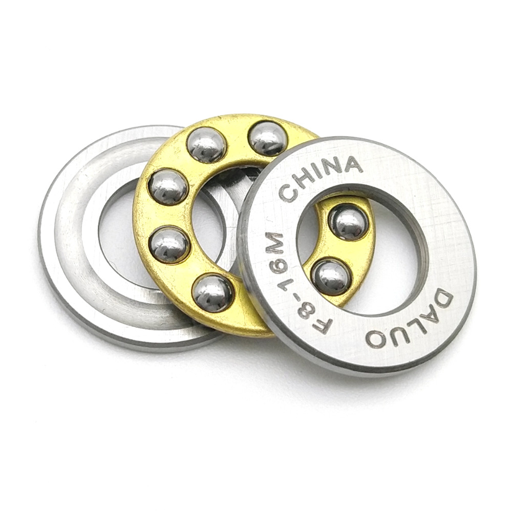 DALUO Bearings F8-16M F8-19M F8-22M 8X16X5 8X19X7 8X22X7 Thrust Ball Bearings Single Separable Direction