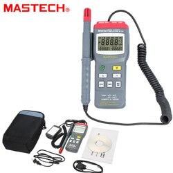 Mastech MS6503 termometr cyfrowy higrometr wyświetlacz LCD RS232 interfejs miernik wilgotności