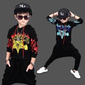 Image 2 - เด็กเครื่องแต่งกายเด็กHip Hop Hip Hopแสดงเสื้อผ้าชุดว่ายน้ำเด็กฤดูใบไม้ร่วงและฤดูหนาวเสื้อผ้าเต้นรำการแข่งขันเสื้อผ้า