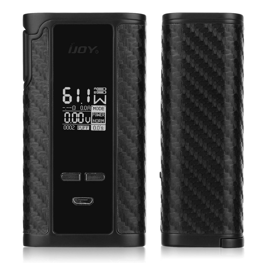 Original IJOY Captain PD270 Box Mod Vape 234W Electronic Cigarette Vaper Powered by Dual 20700 Battery original sigelei fuchai glo box mod 230w electronic cigarette vape mod powered by dual 18650 batteries support customized clour