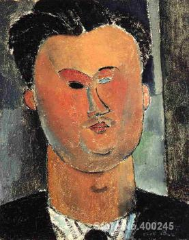 Portrait artist Pierre Reverdy Amedeo Modigliani canvas art Hand painted High quality