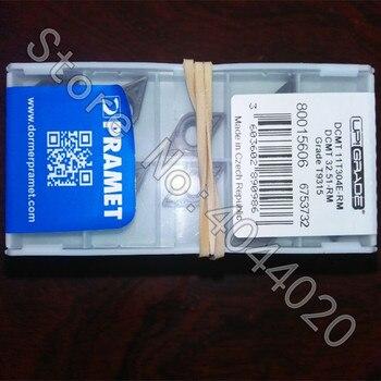 DCMT11T304E-RM T9315  10Pcs New Original CNC Tool Blade Carbide Blade