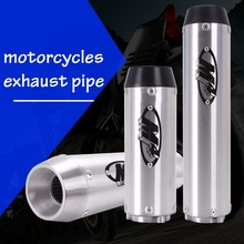 M4 Logo Exhaust Pipe Cylinder For Honda VTEC CB400 CBR250 CBR400 CBR600 F4I XJR400 VFR400 74A F5 Motorcycle Accessories