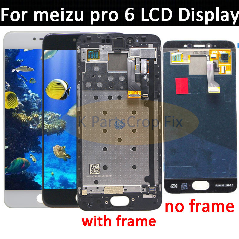 5 2 Amoled 1920 1080 Meizu Pro 6 M570M M570C M570Q M570h Lcd Display with Touch