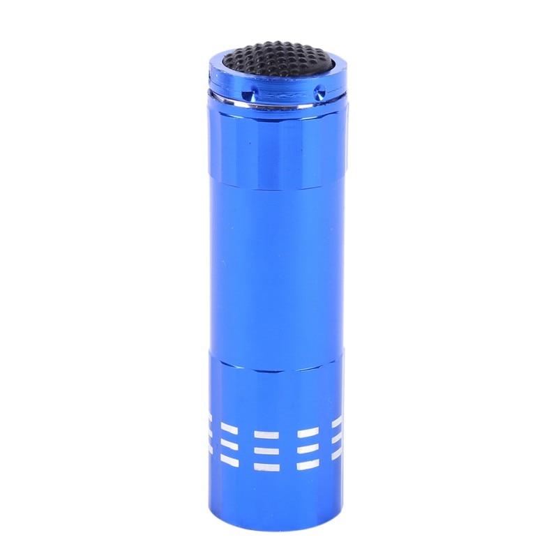 4 Colors Aluminum Covering Portable Flashlight 3 AAA Battery Classic Mini Flashlight Small LED Flashlight