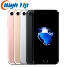 Разблокированный мобильный телефон Apple iphone 7 4G LTE 2G ram 32 GB/128 GB/256 GB rom 4,7 ''12. 0 MP отпечатков пальцев Смартфон