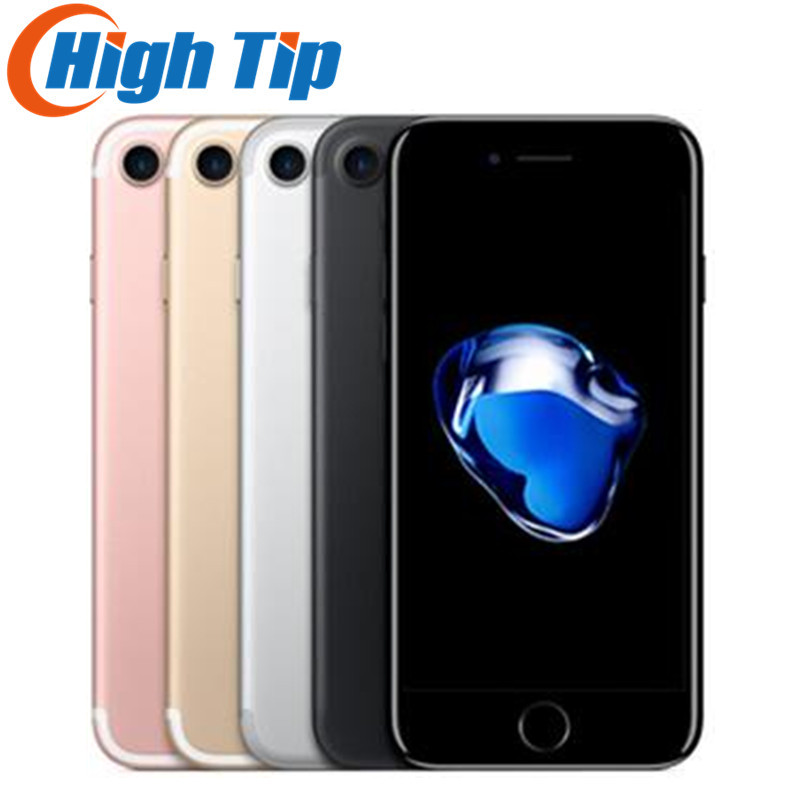 Débloqué Original Apple iphone 7 4g LTE Mobile téléphone 2g RAM 32 gb/128 gb/256 gb ROM 4.7 ''. 0 MP D'empreintes Digitales Smartphone