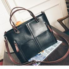 Famous Women Vintage Handbags Brown Retro Shoulder Tote Bag Designer Leather Luxury Bags High Quality Carteras Mujer De Hombro