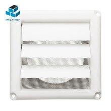MTGATHER 5,6 дюймов БЕЛАЯ ПЛАСТИКОВАЯ решетчатая вентиляционная решетка с регулируемой крышкой Flyscreen для охлаждения и вентиляционных отверстий