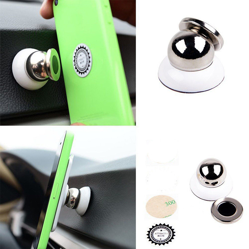 360 Degree Universal Car Phone Holder Magnetic Air Vent Mount Cell Phone Car Mobile Phone Holder Stand Mobile Phone Accessories 4