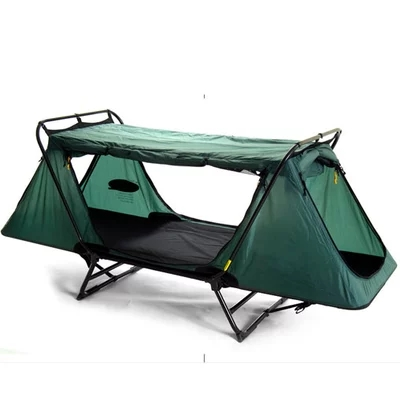 Camping Beds For Tents >> One Adult and One Children Outdoor Camping Folding Tent