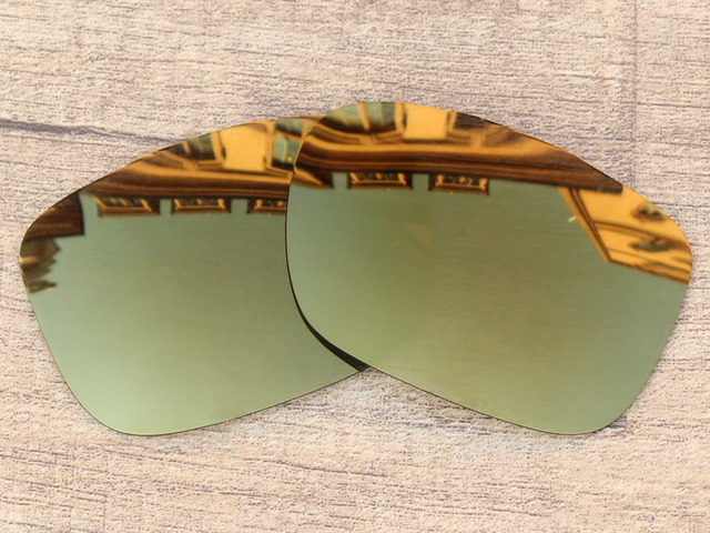 7c8acbb445b Bronze Golden Mirror Polarized Replacement Lenses For TwoFace Sunglasses  Frame 100% UVA   UVB Protection